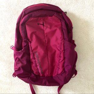 Patagonia raspberry Refugio backpack